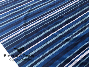 BOAF Printed Heathered Stripes - Blue