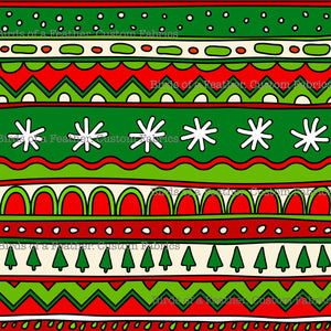 Christmas Pattern Stripes *Pre-Order