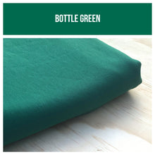 Bottle Green Stretch French Terry 250gsm