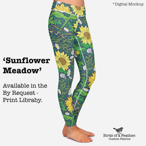 Sunflower Meadow - Large Scale