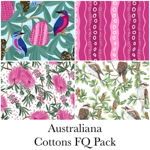 Australiana Cotton 4xFQ Pack
