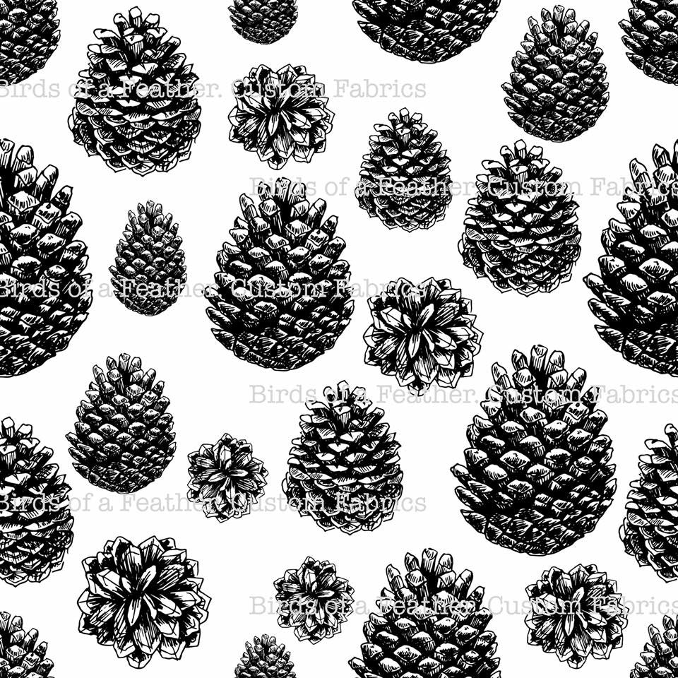 Pinecones Stand-alone *50% off Christmas Prints!
