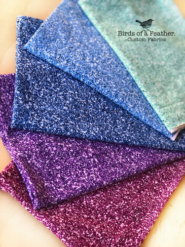 Faux Glitter Stash Pack - Mermaid