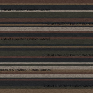 BOAF Printed Heathered Stripes - Brown *Pre-Order