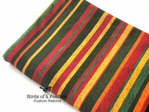 BOAF Printed Heathered Stripes - Festive *Pre-Order