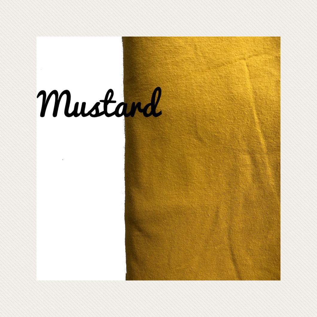 Mustard - Restocking within weeks