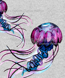 Jelly Fish - Jumbo Sea Creatures Panel