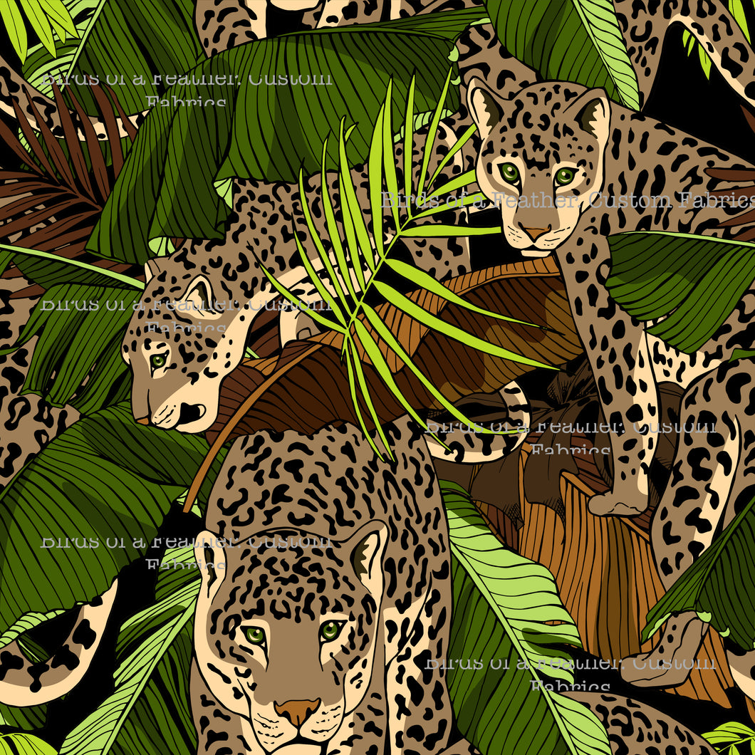 Leopards In Hiding