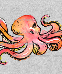 Octopus - Jumbo Sea Creatures Panel *Pre-Order