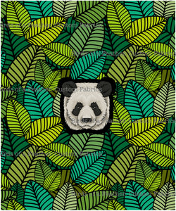 Panda Panel -  Kids & Adult Sizing Available