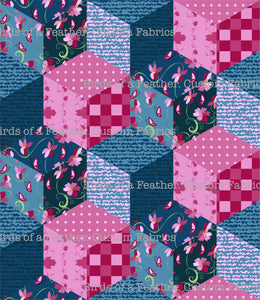 Patchwork - Blue