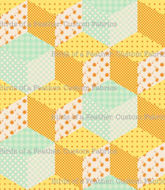 Patchwork - Yellow
