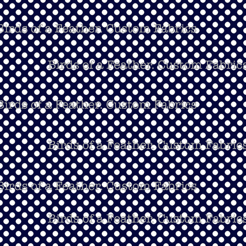Be Cool, Be Polka Dot - Dark Blue