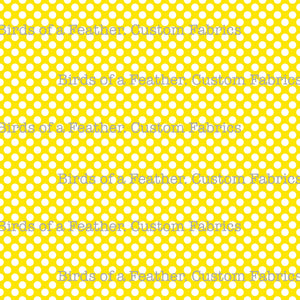 Be Cool, Be Polka Dot - Yellow