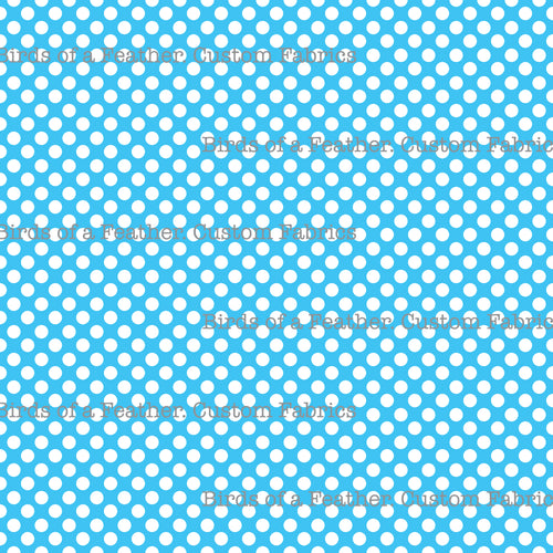 Be Cool, Be Polka Dot - Light Blue