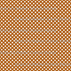 Be Cool, Be Polka Dot - Brown