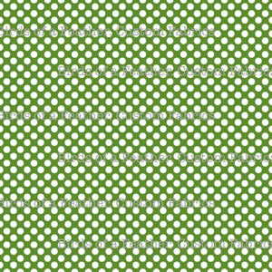 Be Cool, Be Polka Dot - Green