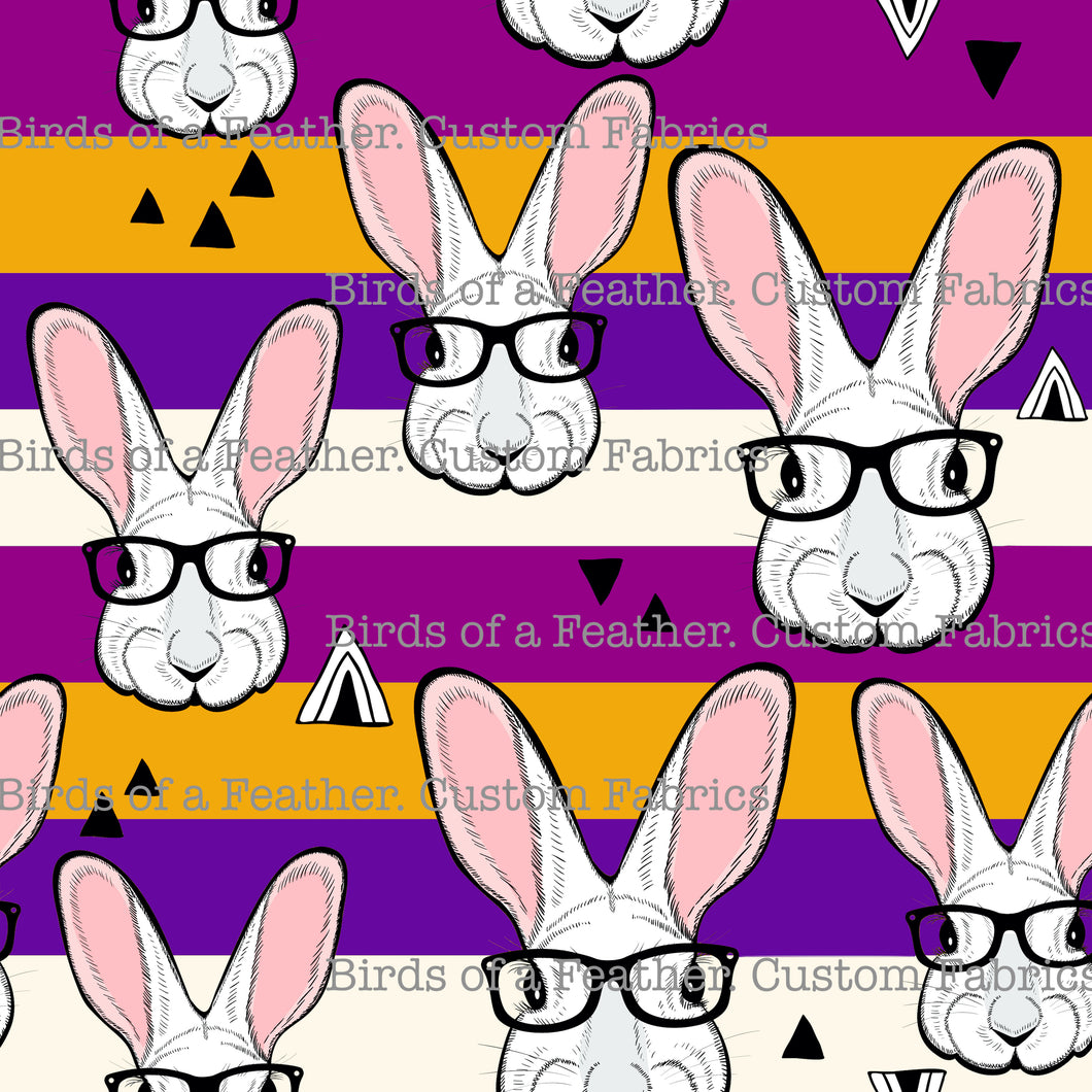 Mod Bunnies - Purple