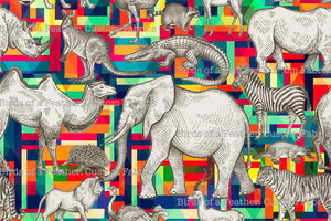 Animal on Abstract Parade