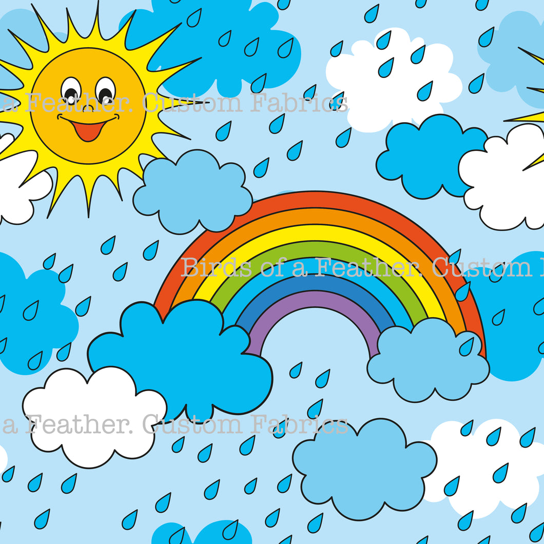 Rain, Rainbow or Sunshine