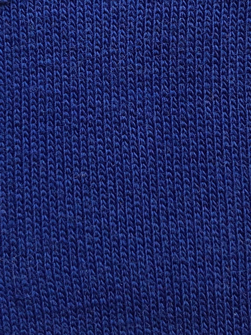 Deep Royal Blue Stretch French Terry - Discounted Preorder