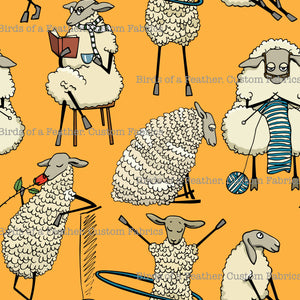 Chilled Sheep Yellow