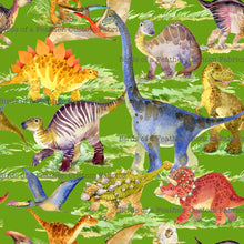 Walking with Dinosaurs - Bright Green