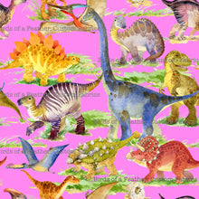 Walking with Dinosaurs - Bubblegum Pink