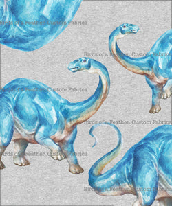Brontosaurus Colour - Panel