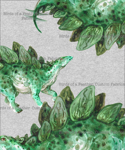 Stegosaurus Colour - Panel *Pre-Order