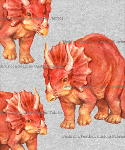 Triceratops Colour - Panel