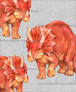 Triceratops Colour - Panel *Pre-Order