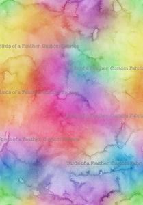 Watercolour Rainbow #2 *Pre-Order