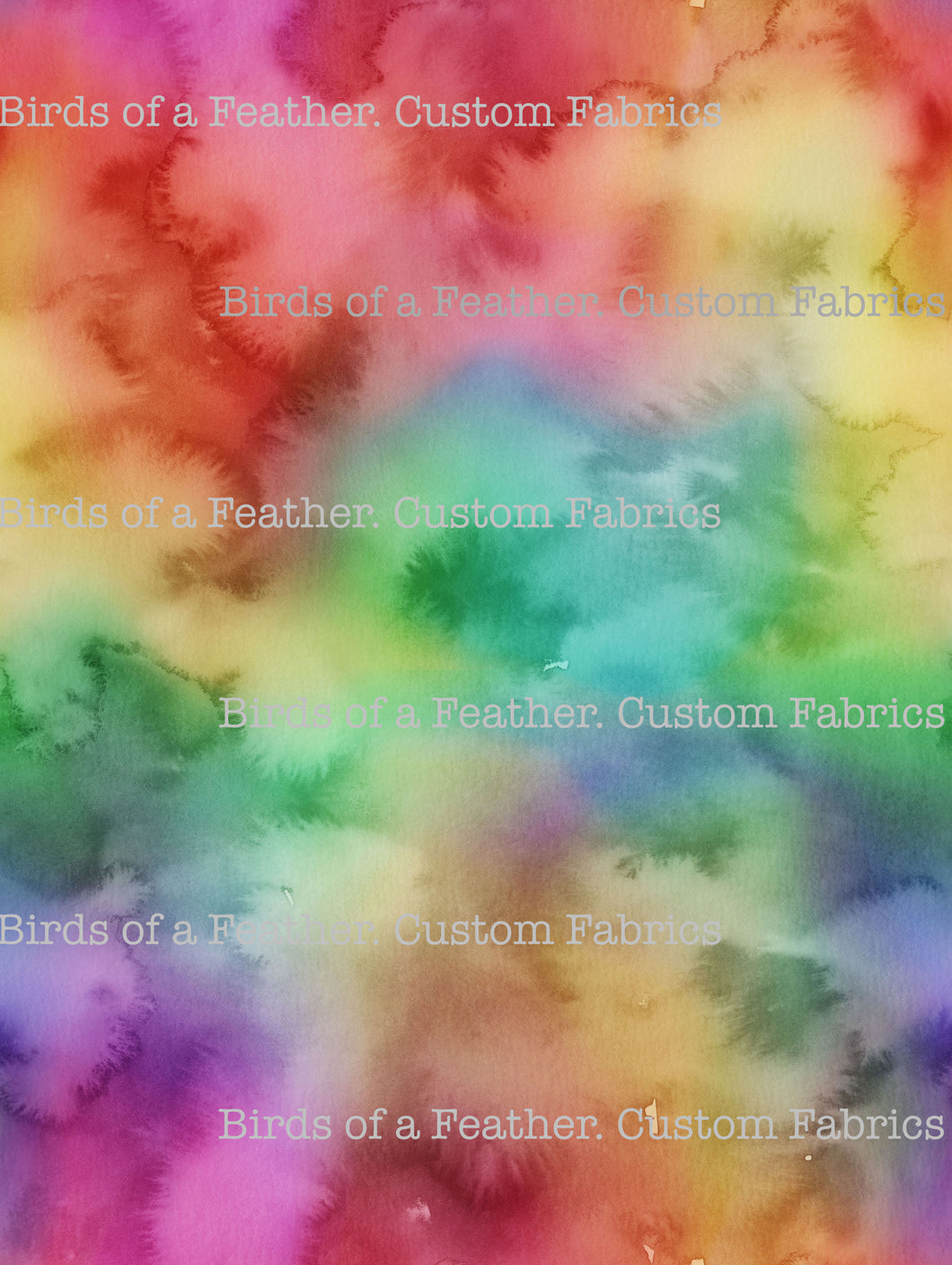 Watercolour Rainbow #1