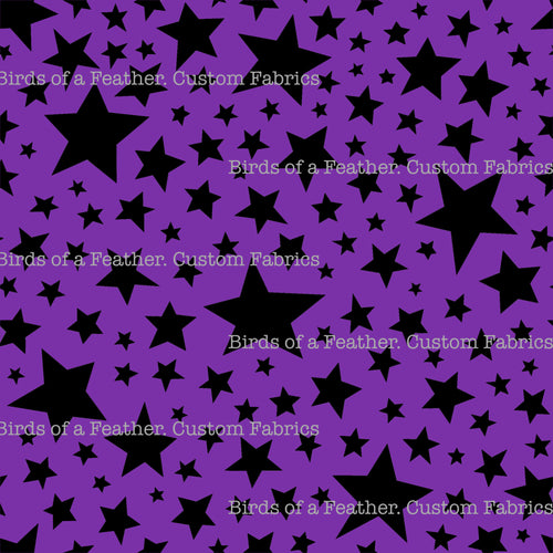 Stars - Cactus, Pop & Purple Coordinate