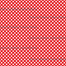 Be Cool, Be Polka Dot - Red