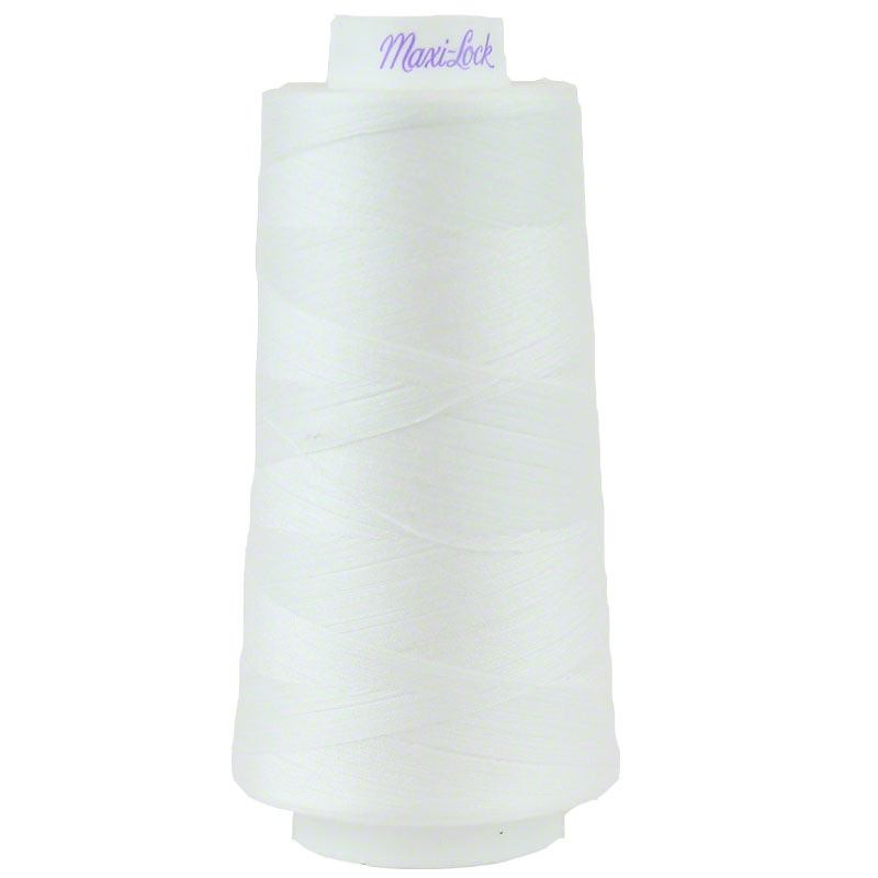 Maxi-Lock Stretch Thread White