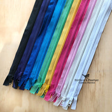 "Birch Zip - Chunky No#5 Open Ended, 51cm (20"") - Multi Colour Options Available"