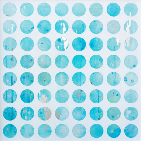 Eight by Eight - Aqua - Lustre.art