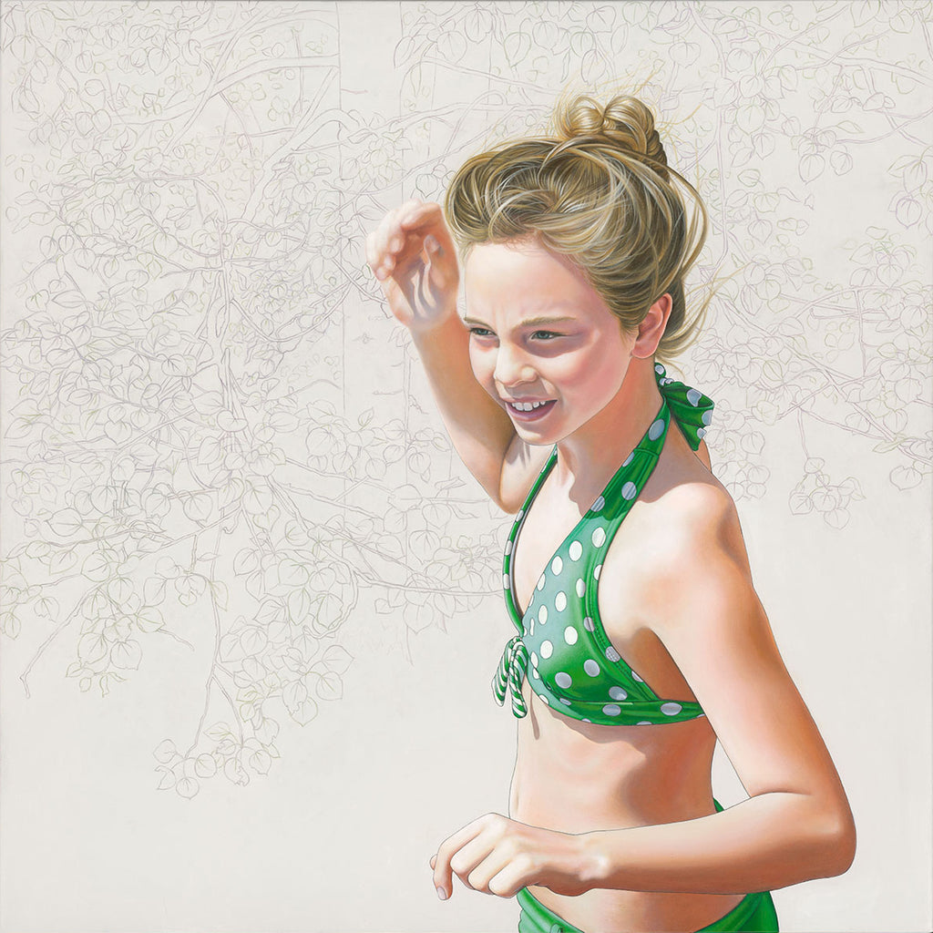 The In-between (Polka Dot Bikini Girl) - Lustre.art