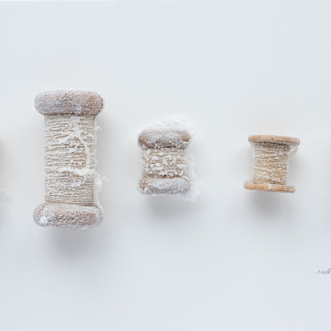 Sweetness of the Work - Bobbins No 1 - Lustre.art