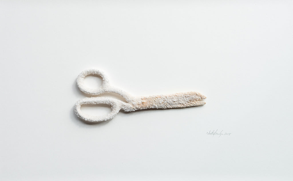 Sweetness of the Work - Scissors No2 - Lustre.art