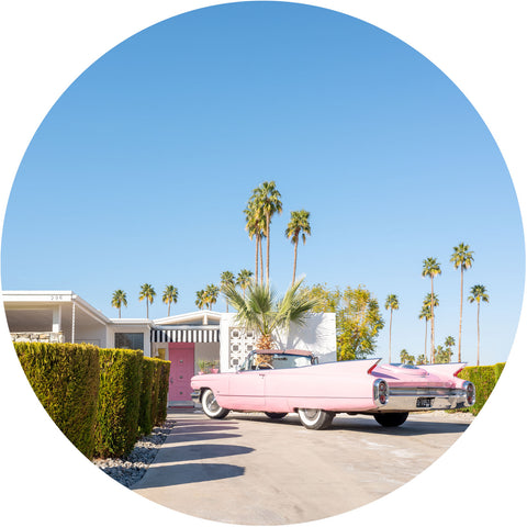 Pink Cadillac in the Round - Lustre.art