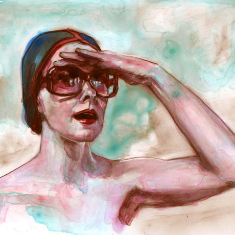Over There - study sketch - Lustre.art