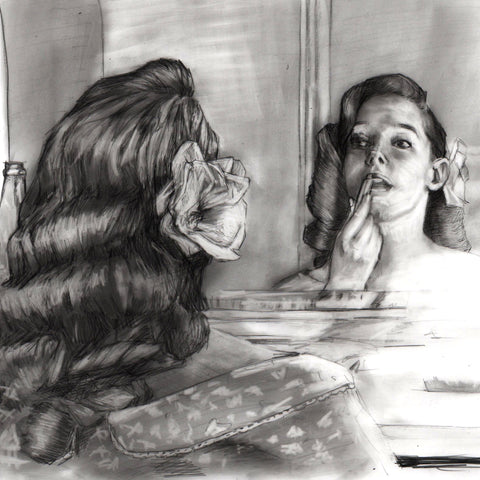 Mirror - study sketch - Lustre.art