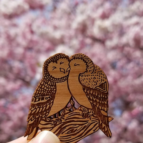 owl brooch pin mothers day