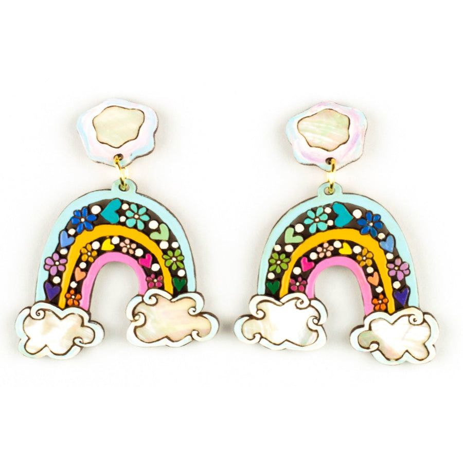 Over the Rainbow Statement Earrings