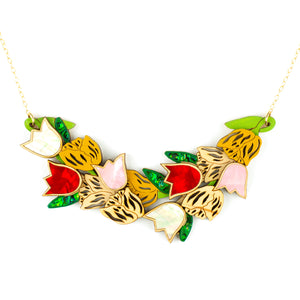 Tulip Fever Statement Necklace