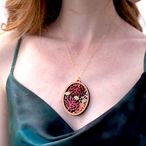Coral Reef Pendant Necklace