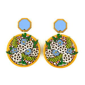 Bouquet Statement Earrings